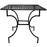 wrought iron tables image